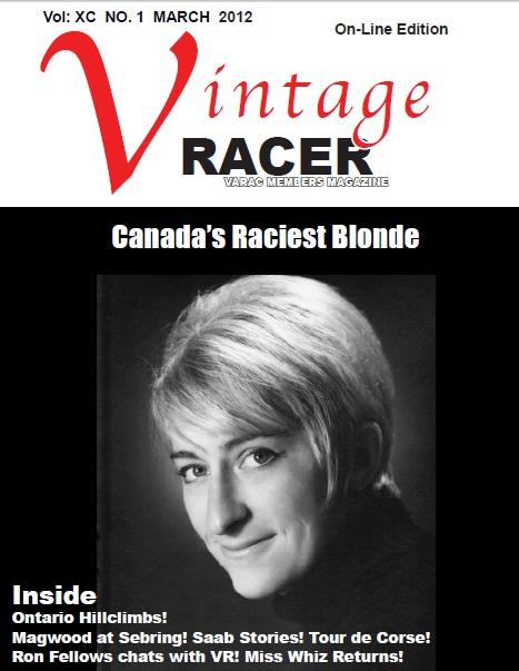Vintage Racer March 2012