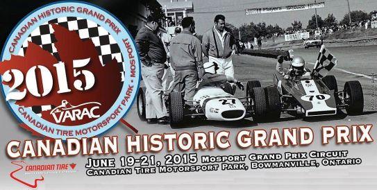 VARAC Canadian Historic Grand Prix 2015