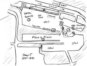 VARAC Paddock Map