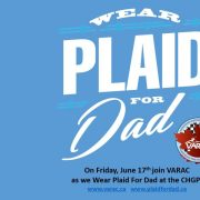 VARAC Supports Plaid For Dad