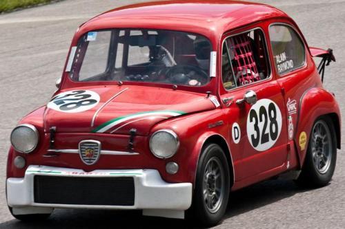 Car 328-Alain Raymond-1964 Fiat Abarth 1000TC GT
