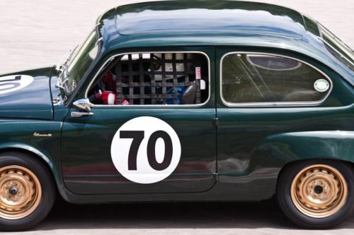 Car 70-Cam McRae-1959 Abarth 850 Sedan GT